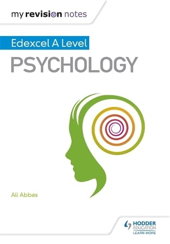 My Revision Notes: Edexcel A level Psychology from Hodder Education