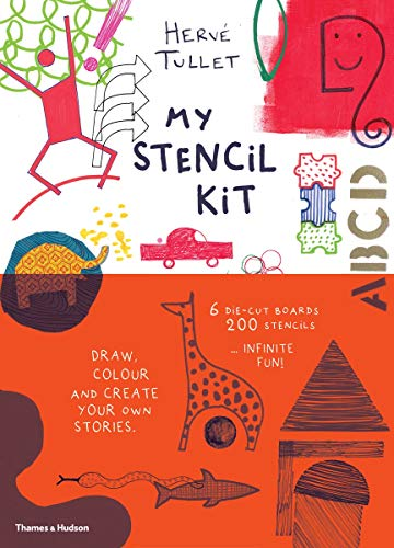 My Stencil Kit: Draw, colour and create your own stories from Thames & Hudson