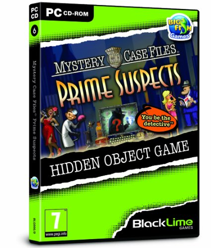 Mystery Case Files: Prime Suspects (PC CD) from FOCUS MULTIMEDIA