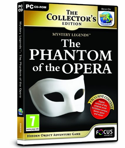 Mystery Legends: The Phantom of the Opera Collector's Edition (PC CD) from FOCUS MULTIMEDIA