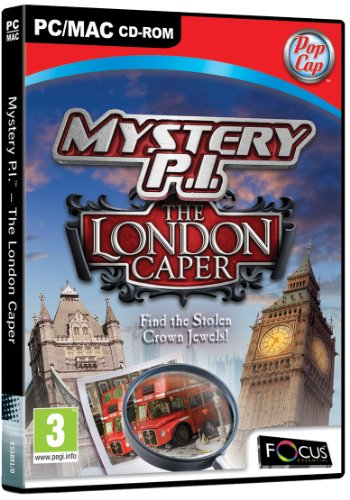 Mystery P.I. – The London Caper (PC CD) from FOCUS MULTIMEDIA