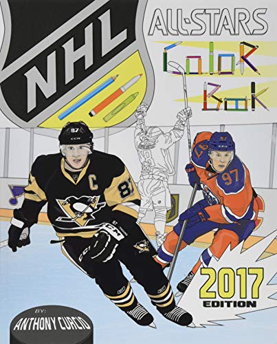 NHL All Stars 2017: Hockey Coloring and Activity Book for Adults and Kids: feat. Crosby, Ovechkin, Toews, Price, Stamkos, Tavares, Subban and 30 more! from CreateSpace Independent Publishing Platform