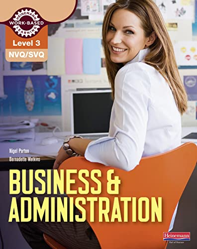 NVQ/SVQ Level 3 Business & Administration Candidate Handbook (NVQ Business and Administration) from Heinemann