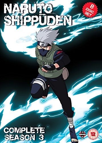 Naruto Shippuden Complete Series 3 Box Set (Episodes 101-153) [DVD] from Manga Entertainment