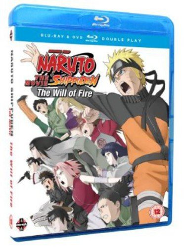 Naruto Shippuden Movie 3: The Will of Fire Blu-ray / DVD Combo Pack - Limited Edition from Manga Entertainment