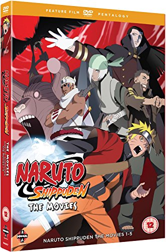 Naruto - Shippuden Movie Pentalogy [DVD] from Manga Entertainment