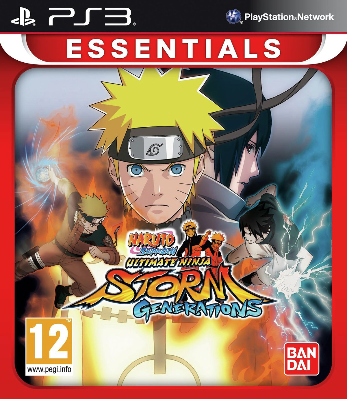 Naruto Shippuden UNS3 Essentials PS3 Game from Naruto