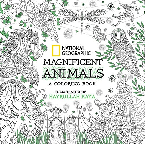 National Geographic Magnificent Animals: Coloring Book from National Geographic