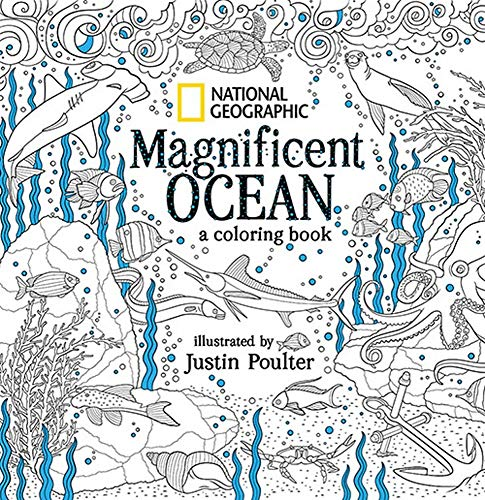 National Geographic Magnificent Ocean: A Coloring Book from National Geographic