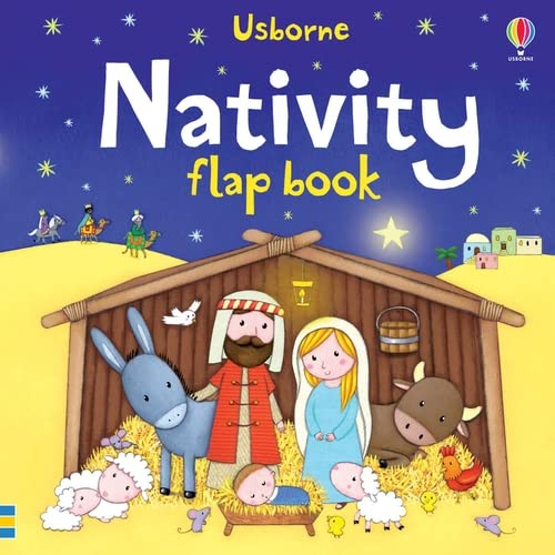 Nativity Flap Book (Usborne Flap Books) from Usborne Publishing Ltd