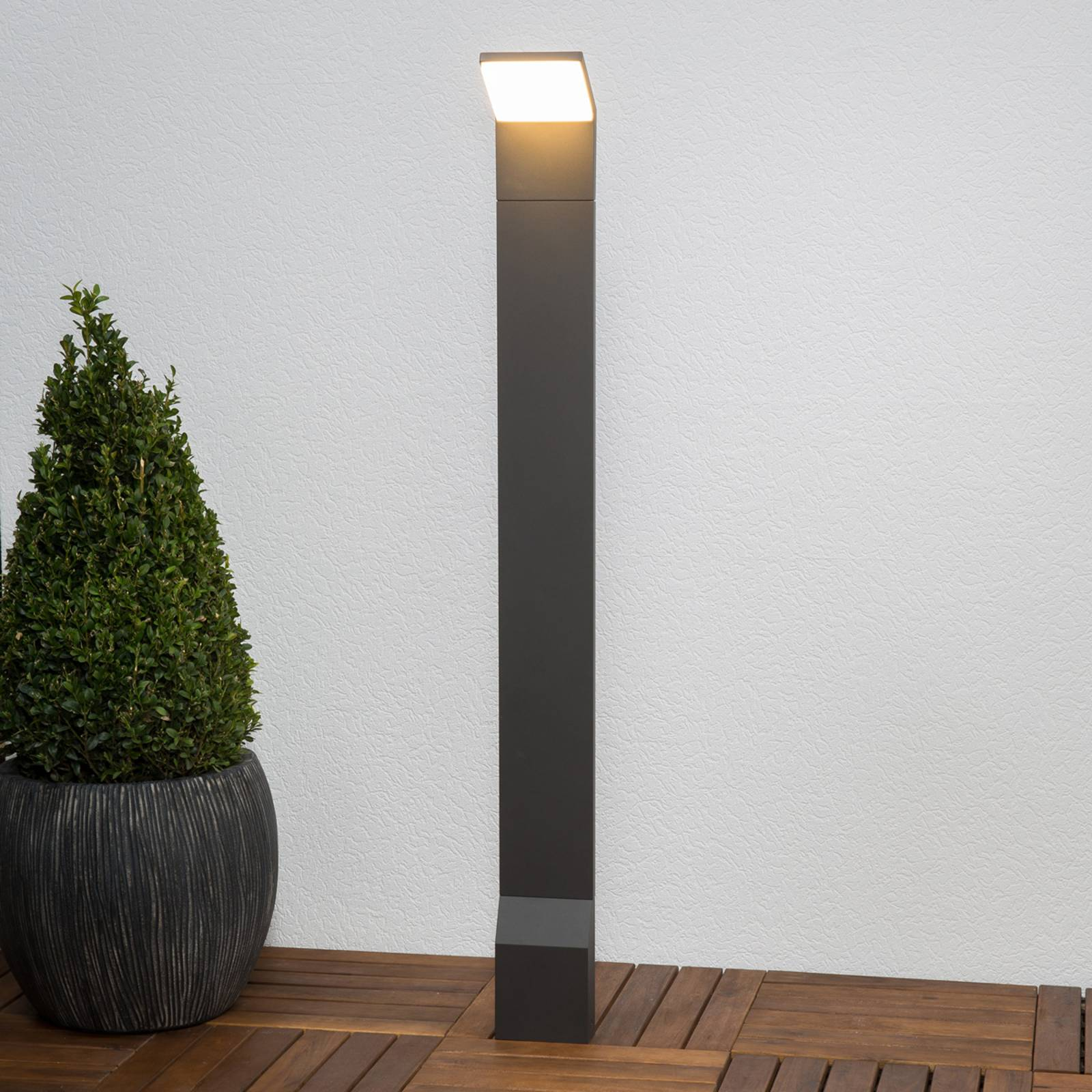 Nevio - LED path light, 100 cm from Lampenwelt.com