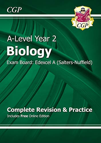 A-Level Biology: Edexcel A Year 2 Complete Revision & Practice with Online Edition (CGP A-Level Biology) from Coordination Group Publications Ltd (CGP)