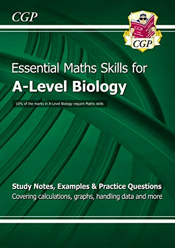New A-Level Biology: Essential Maths Skills from Coordination Group Publications Ltd (CGP)