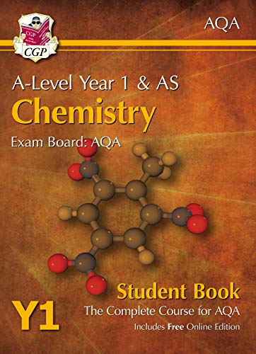 A-Level Chemistry for AQA: Year 1 & AS Student Book with Online Edition (CGP A-Level Chemistry) from Coordination Group Publications Ltd (CGP)