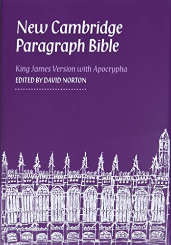 New Cambridge Paragraph Bible with Apocrypha KJ590:TA: Personal size from Cambridge University Press