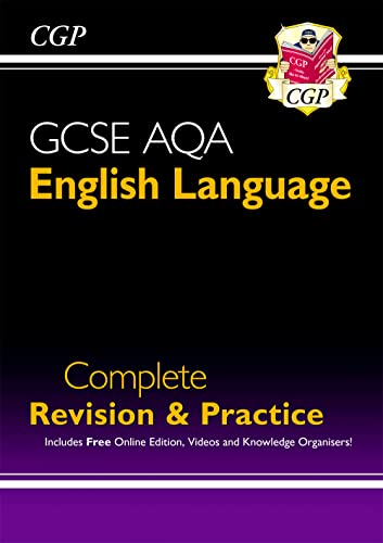 GCSE English Language AQA Complete Revision & Practice - Grade 9-1 Course (with Online Edition) (CGP GCSE English 9-1 Revision) from Coordination Group Publications Ltd (CGP)