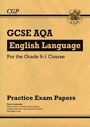 New GCSE English Language AQA Practice Papers - for the Grade 9-1 Course (CGP GCSE English 9-1 Revision) from Coordination Group Publications Ltd (CGP)