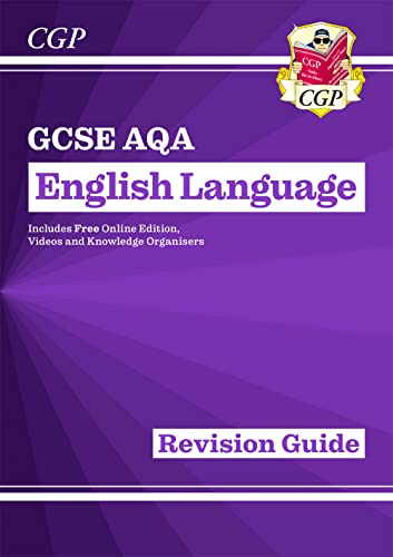 New GCSE English Language AQA Revision Guide - for the Grade 9-1 Course from Coordination Group Publications Ltd (CGP)