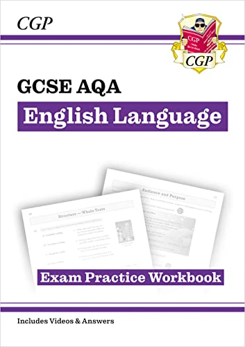 GCSE English Language AQA Workbook - for the Grade 9-1 Course (includes Answers) (CGP GCSE English 9-1 Revision) from Coordination Group Publications Ltd (CGP)