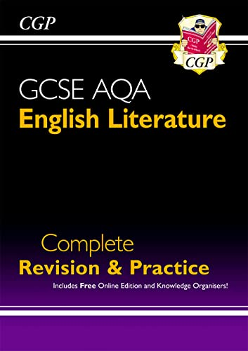 New GCSE English Literature AQA Complete Revision & Practice - Grade 9-1 (with Online Edition) (CGP GCSE English 9-1 Revision) from Coordination Group Publications Ltd (CGP)