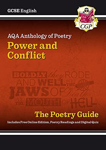New GCSE English Literature AQA Poetry Guide: Power & Conflict Anthology - for the Grade 9-1 Course (CGP GCSE English 9-1 Revision) from Coordination Group Publications Ltd (CGP)