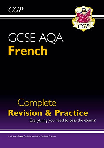 New GCSE French AQA Complete Revision & Practice (with CD & Online Edition) - Grade 9-1 Course (CGP GCSE French 9-1 Revision) from Coordination Group Publications Ltd (CGP)