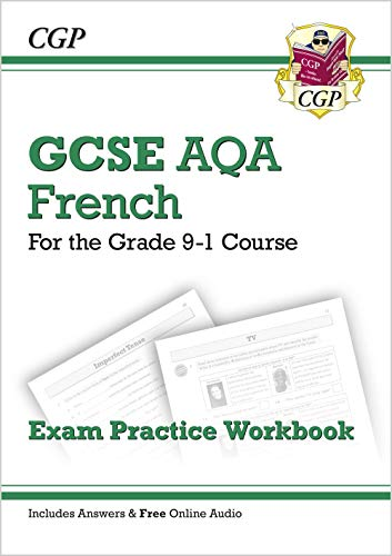 New GCSE French AQA Exam Practice Workbook - for the Grade 9-1 Course (includes Answers) (CGP GCSE French 9-1 Revision) from Coordination Group Publications Ltd (CGP)