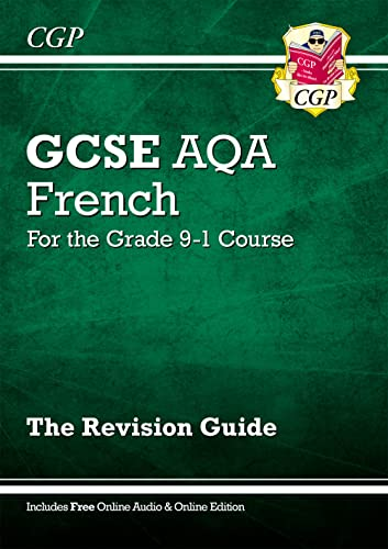 New GCSE French AQA Revision Guide - for the Grade 9-1 Course (with Online Edition) from Coordination Group Publications Ltd (CGP)