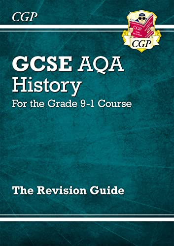 New GCSE History AQA Revision Guide - for the Grade 9-1 Course (CGP GCSE History 9-1 Revision) from Coordination Group Publications Ltd (CGP)