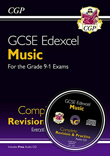 New GCSE Music Edexcel Complete Revision & Practice (with Audio CD) - for the Grade 9-1 Course (CGP GCSE Music 9-1 Revision) from Coordination Group Publications Ltd (CGP)