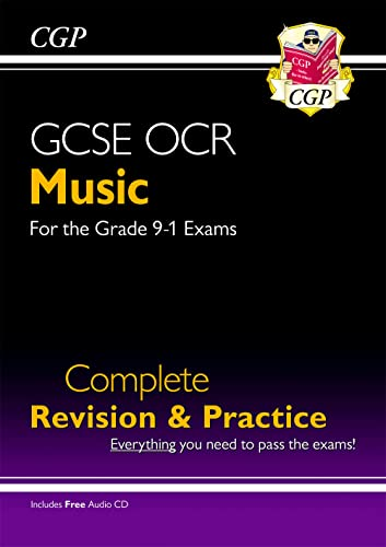 New GCSE Music OCR Complete Revision & Practice (with Audio CD) - for the Grade 9-1 Course (CGP GCSE Music 9-1 Revision) from Coordination Group Publications Ltd (CGP)