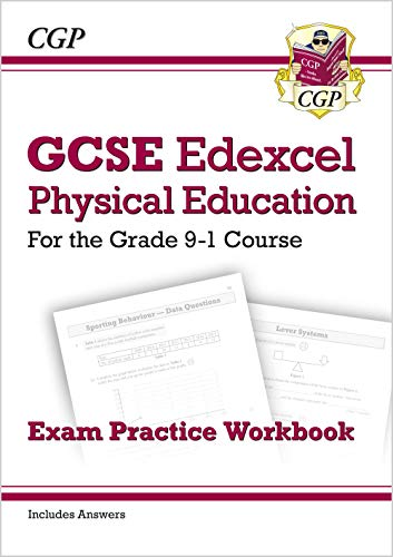 New GCSE Physical Education Edexcel Exam Practice Workbook - for the Grade 9-1 Course (incl Answers) (CGP GCSE PE 9-1 Revision) from Coordination Group Publications Ltd (CGP)
