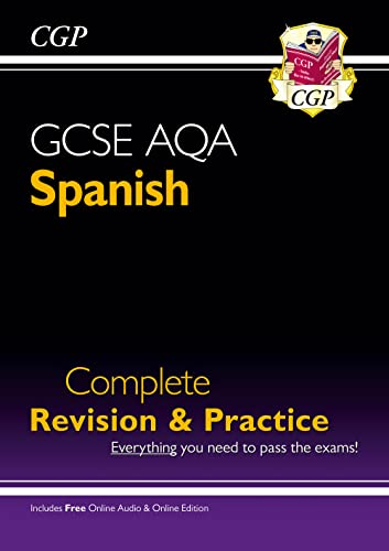 New GCSE Spanish AQA Complete Revision & Practice (with CD & Online Edition) - Grade 9-1 Course (CGP GCSE Spanish 9-1 Revision) from Coordination Group Publications Ltd (CGP)