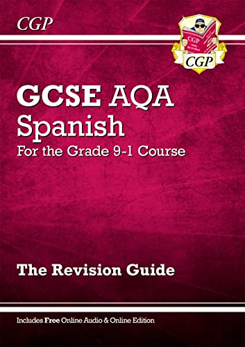 New GCSE Spanish AQA Revision Guide - for the Grade 9-1 Course (with Online Edition) (CGP GCSE Spanish 9-1 Revision) from Coordination Group Publications Ltd (CGP)
