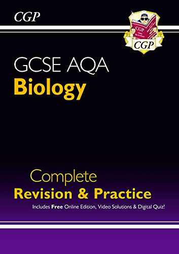 Grade 9-1 GCSE Biology AQA Complete Revision & Practice with Online Edition (CGP GCSE Biology 9-1 Revision) from Coordination Group Publications Ltd (CGP)
