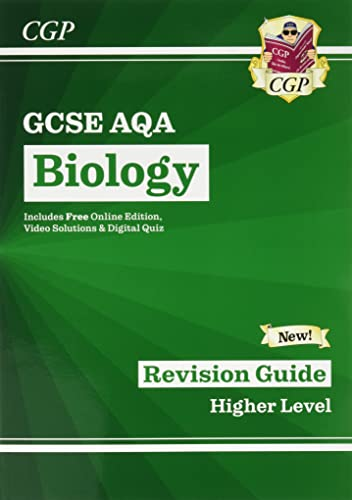 Grade 9-1 GCSE Biology: AQA Revision Guide with Online Edition - Higher (CGP GCSE Biology 9-1 Revision) from CGP Books
