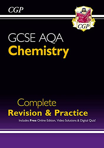 New Grade 9-1 GCSE Chemistry AQA Complete Revision & Practice with Online Edition (CGP GCSE Chemistry 9-1 Revision) from Coordination Group Publications Ltd (CGP)