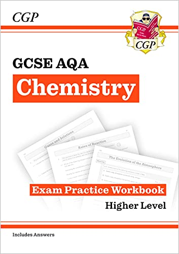 New Grade 9-1 GCSE Chemistry: AQA Exam Practice Workbook (with answers) (CGP GCSE Chemistry 9-1 Revision) from Coordination Group Publications Ltd (CGP)