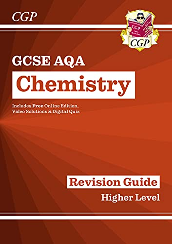 Grade 9-1 GCSE Chemistry: AQA Revision Guide with Online Edition - Higher (CGP GCSE Chemistry 9-1 Revision) from Coordination Group Publications Ltd (CGP)