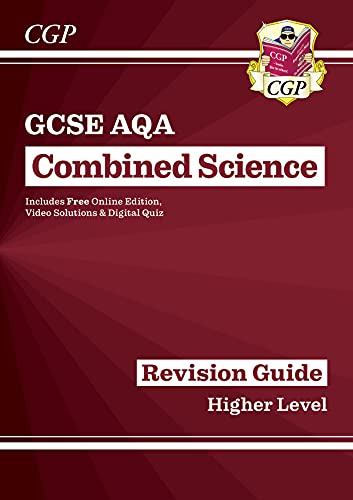 Grade 9-1 GCSE Combined Science: AQA Revision Guide with Online Edition - Higher (CGP GCSE Combined Science 9-1 Revision) from Coordination Group Publications Ltd (CGP)