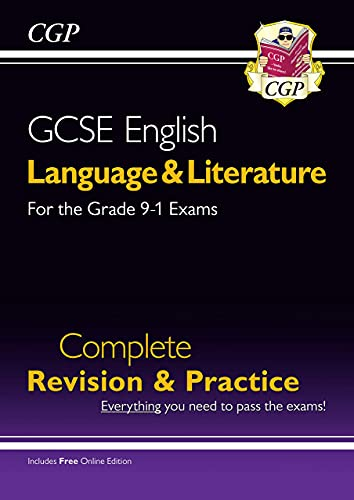Grade 9-1 GCSE English Language and Literature Complete Revision & Practice (with Online Edn) (CGP GCSE English 9-1 Revision) from Coordination Group Publications Ltd (CGP)
