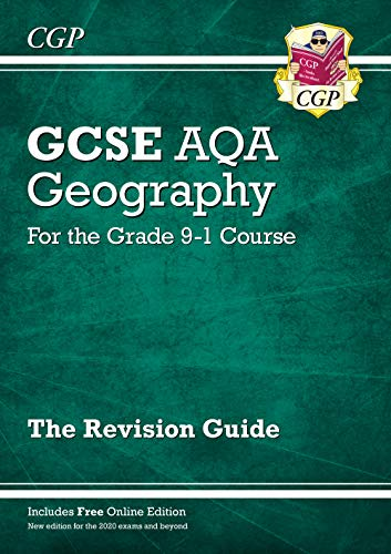 New Grade 9-1 GCSE Geography AQA Revision Guide (CGP GCSE Geography 9-1 Revision) from Coordination Group Publications Ltd (CGP)