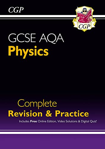Grade 9-1 GCSE Physics AQA Complete Revision & Practice with Online Edition (CGP GCSE Physics 9-1 Revision) from Coordination Group Publications Ltd (CGP)