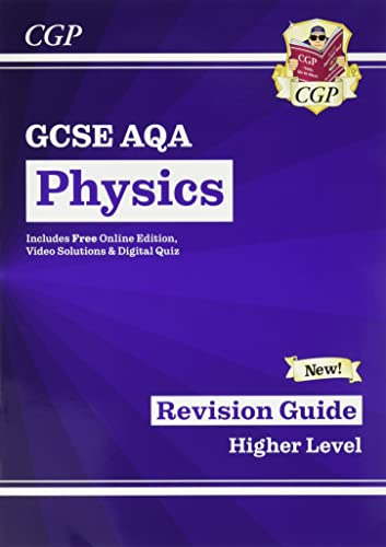 Grade 9-1 GCSE Physics: AQA Revision Guide with Online Edition - Higher (CGP GCSE Physics 9-1 Revision) from Coordination Group Publications Ltd (CGP)