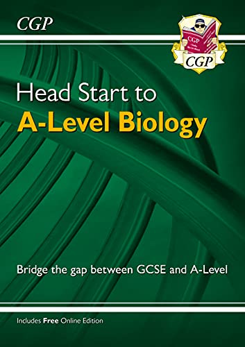Head Start to A-level Biology (CGP A-Level Biology) from Coordination Group Publications Ltd (CGP)