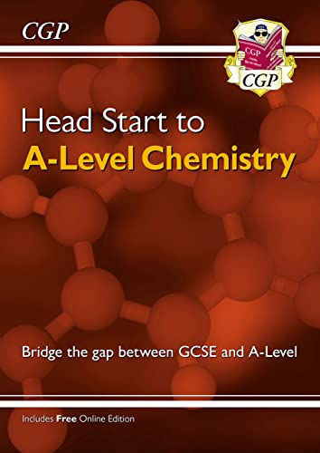 New Head Start to A-level Chemistry (CGP A-Level Chemistry) from Coordination Group Publications Ltd (CGP)