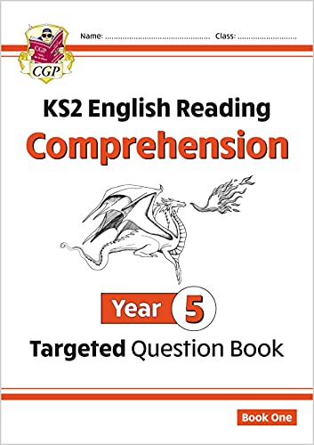 New KS2 English Targeted Question Book: Year 5 Comprehension - Book 1 (CGP KS2 English) from Coordination Group Publications Ltd (CGP)
