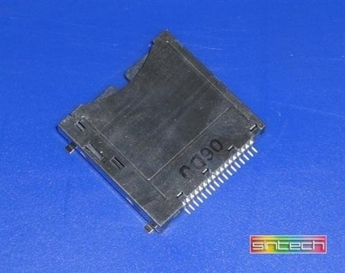 New Replacement Nintendo DS or DS Lite Slot 1 Socket, Card Reader Socket. Quality parts supplied by ConsoleParts4U Ltd.