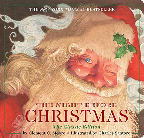 Night Before Christmas Board Book: The Classic Edition from Applesauce Press