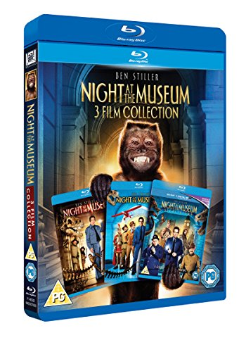 Night at the Museum 1-3 [Blu-ray] [2006] from 20th Century Fox Home Entertainment